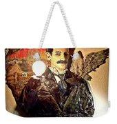 Nikola Tesla At Wardenclyffe Weekender Tote Bag