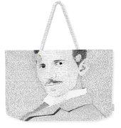 Nikola Tesla In His Own Words Weekender Tote Bag