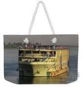 Nile Cruise Ship Weekender Tote Bag