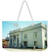 Niles, Ohio - Vintage Bank Weekender Tote Bag