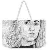 Nina Donovan In Her Own Words Weekender Tote Bag