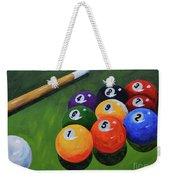 Nine Ball Weekender Tote Bag