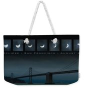 Nine Phases Of An Eclipse 2 Weekender Tote Bag