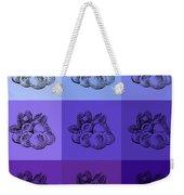 Nine Shades Of Blueberries Weekender Tote Bag