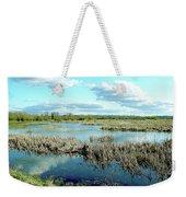 Nisqually Marsh Weekender Tote Bag