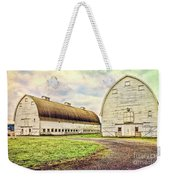 Nisqually Twin Barns Weekender Tote Bag