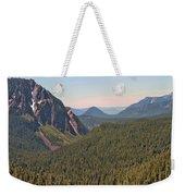 Nisqually Valley In Color Weekender Tote Bag