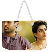 Nithin Samantha A Aa Telugu Movie Weekender Tote Bag