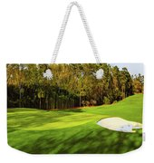 No. 4 Flowering Crabapple Par 3 240 Yards Weekender Tote Bag