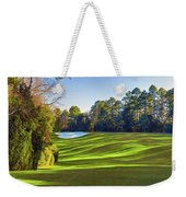 No. 5 Magnolia 455 Yards  Par 4 Weekender Tote Bag