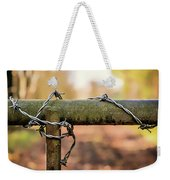 No Entry Weekender Tote Bag by Nick Bywater