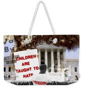 No Hate Weekender Tote Bag