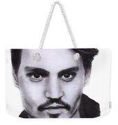 Johnny Depp Drawing By Sofia Furniel Weekender Tote Bag