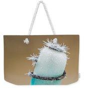 Hoar Frost Crystal Weekender Tote Bag