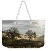 Wine Country Sunrise Weekender Tote Bag