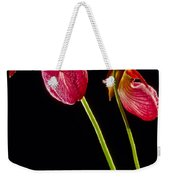 No Lady Slipper Was Harmed Weekender Tote Bag