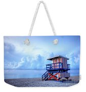No Lifeguard On Duty Weekender Tote Bag by Martin Williams
