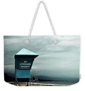 Santa Barbara Life Guard Weekender Tote Bag