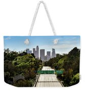 No More Cars In Los Angeles. Weekender Tote Bag