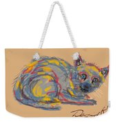 No Name Cat Weekender Tote Bag