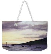 No Safer Harbor Lahaina Hawaii Weekender Tote Bag