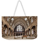 No Sanctuary Weekender Tote Bag