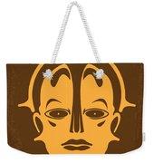 No052 My Metropolis Minimal Movie Poster Weekender Tote Bag