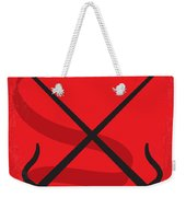 No060 My Electra Minimal Movie Poster Weekender Tote Bag