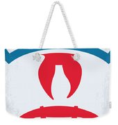 No104 My Ghostbusters Minimal Movie Poster Weekender Tote Bag