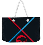 No155 My Star Wars Episode V The Empire Strikes Back Minimal Movie Poster Weekender Tote Bag