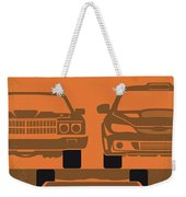 No207-4 My Fast And Furious Minimal Movie Poster Weekender Tote Bag