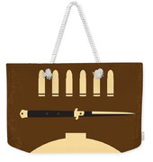 No318 My Rebel Without A Cause Minimal Movie Poster Weekender Tote Bag