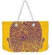 No439 My The Bourne Identity Minimal Movie Poster Weekender Tote Bag