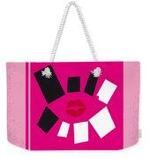 No458 My Mean Girls Minimal Movie Poster Weekender Tote Bag