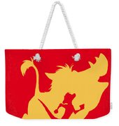 No512 My The Lion King Minimal Movie Poster Weekender Tote Bag