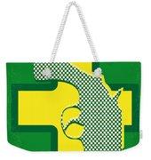 No628 My Drugstore Cowboy Minimal Movie Poster Weekender Tote Bag
