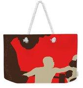 No723 My Southpaw Minimal Movie Poster Weekender Tote Bag