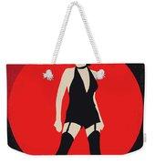 No742 My Cabaret Minimal Movie Poster Weekender Tote Bag