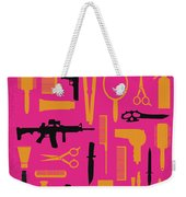 No743 My You Dont Mess With The Zohan Minimal Movie Poster Weekender Tote Bag