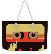 No812 My Guardians Of The Galaxy Minimal Movie Poster Weekender Tote Bag