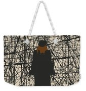 No914 My Mona Lisa Smile Minimal Movie Poster Weekender Tote Bag