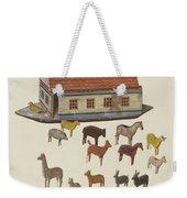 Noah's Ark And Animals Weekender Tote Bag