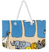 Noah's Ark Weekender Tote Bag by Genevieve Esson