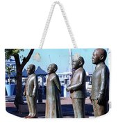 Nobel Square  /  To Honor South Africa's Four Nobel Peace Prize Laureates Weekender Tote Bag