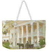 Noble Mansion Of The 19th Century In Russia Weekender Tote Bag