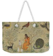 Noble Woman In A Garden Weekender Tote Bag