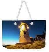 Nobska Light Falmouth Ma Cape Cod Window Shadow Weekender Tote Bag
