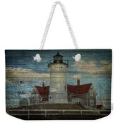 Nobska Lighthouse 2 Weekender Tote Bag