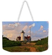 Nobska Lighthouse Weekender Tote Bag