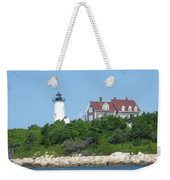 Nobska Point Lighthouse Weekender Tote Bag